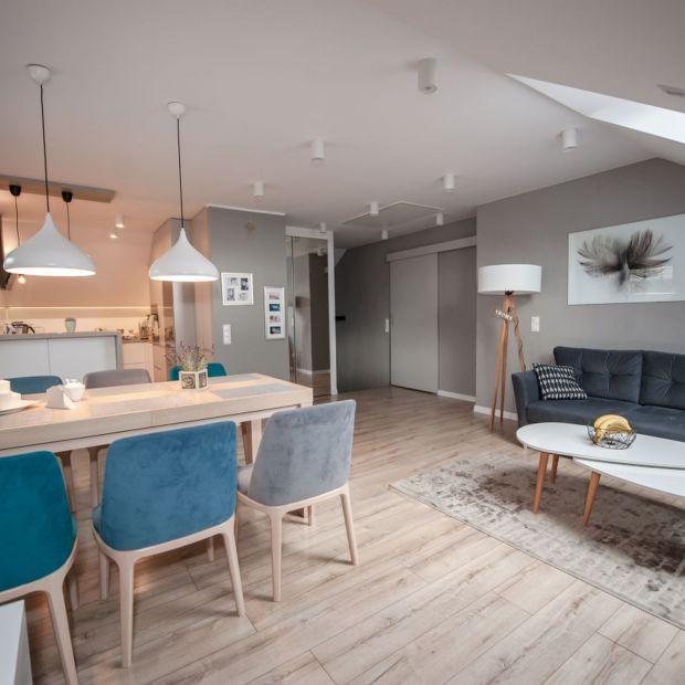 Mieszkanie pod skosami - udana adaptacja poddasza