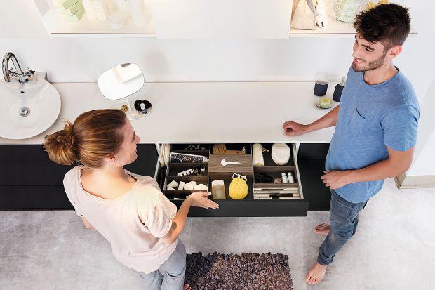 Przechowywanie w łazience - produkty do małego wnętrza