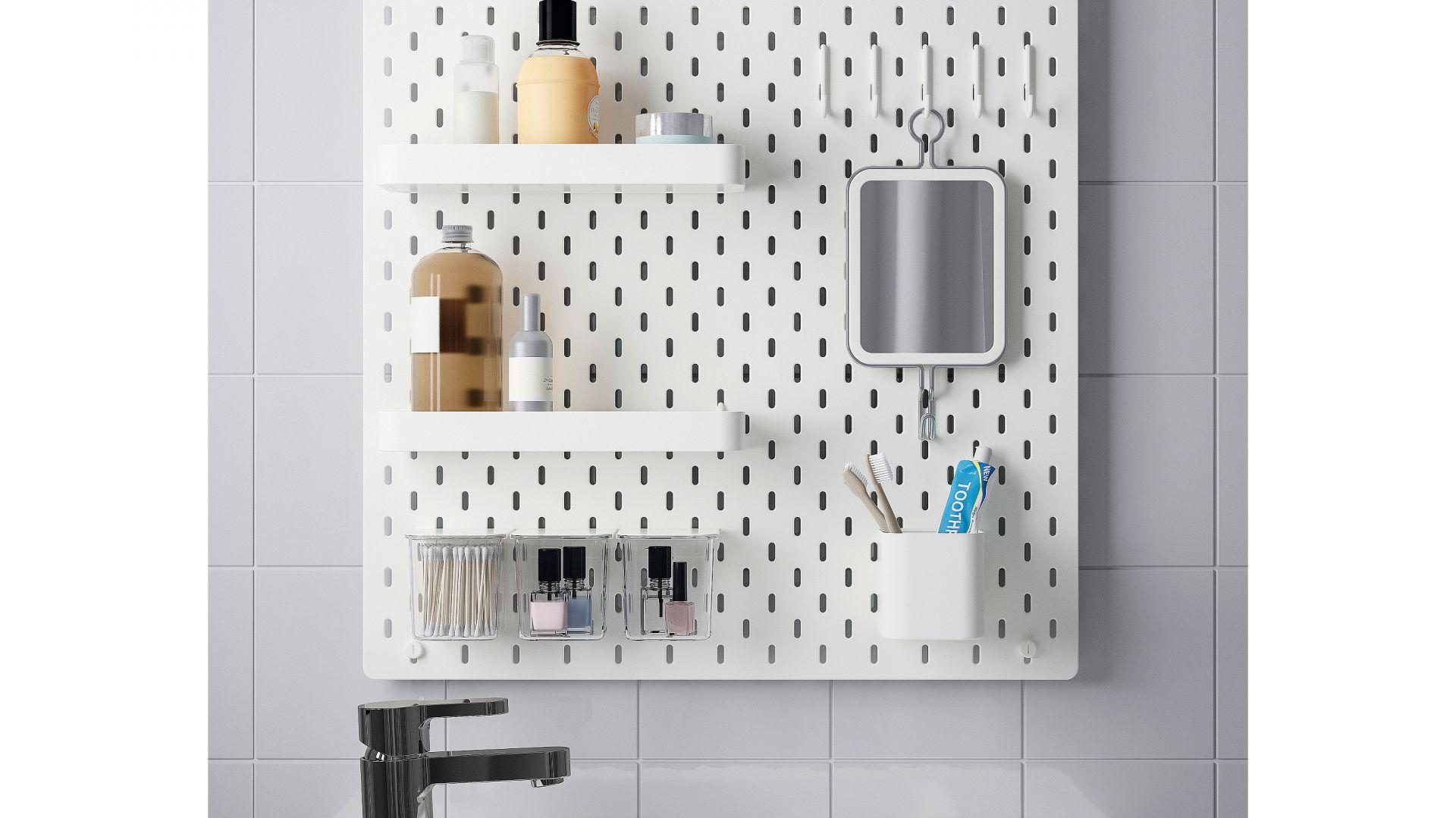 Przechowywanie W łazience Produkty Do Małego Wnętrza
