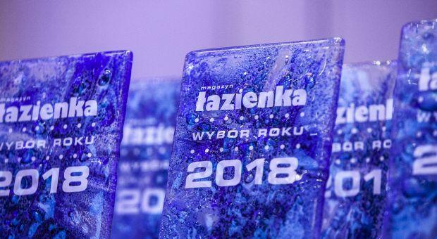Najlepsze produkty i salony łazienkowe 2018 roku już wybrane!