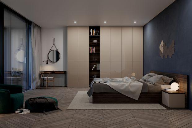 Garderoba w  sypialni - modne meble wielofunkcyjne