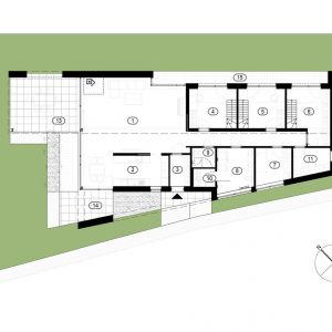 FIL House w Konstancinie-Jeziornie. Projekt: Beczak/Beczak/Architekci. Fot. Baumit