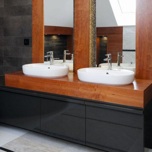 Blat w łazience: inspirujące pomysły projektantów