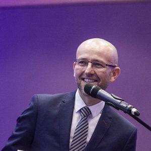 Adam Ptasiński, prezes zarządu, BR Konsorcjum Refleks i Salony Łazienek BLU. Fot. Marek Misiurewicz