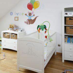 Pokój, który powstał z myślą o małym Olivierze. Projekt: Magdalena Biały. Fot. Bartosz Jarosz