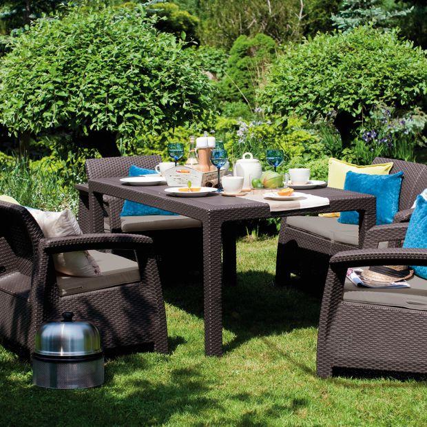 Czas na relaks w ogrodzie. Zobacz nowe zestawy mebli