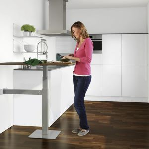 Meble modułowe w kuchni i salonie. Fot. Peka