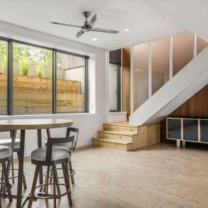 Copperwood house - dom z miedzianego drewna. Projekt i zdjęcia: HAUS Architects