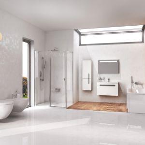 Koncept Chrome to seria całościowego wyposażenia łazienki. Fot. Ravak