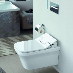 Proponowane przez Duravit deski SensoWash®, zapewniające wysoki komfort obsługi, wyróżniają się przemyślaną formą i pięknym, dopracowanym wzornictwem. Fot. Duravit
