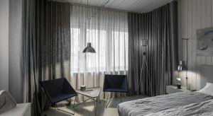 Monochromatyczne wnętrza zyskują na popularności, co pokazało choćby zakończone niedawno Salone del Mobile 2018. Na sypialnię zaaranżowaną w odcieniach szarości zdecydował się m.in. Tomasz Pągowski, projektant i designer.