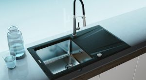 Szukając wyposażenia do nowoczesnej kuchni warto zwrócić uwagę na nowość – połączenie stali z granitem.