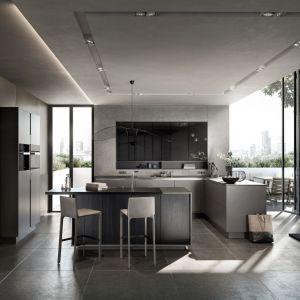 Meble z kolekcji Pure to niezwykle elegancka propozycja aranżacji nowoczesnej kuchni. Matowe wykończenie drewnianych frontów podkreśla szlachetne usłojenie. Fot. SieMatic