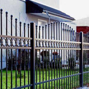 Jedną z podstawowych zalet ogrodzeń wykonanych z metalu jest ich wysoka wytrzymałość. Fot. Wiśniowski