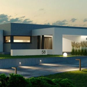 Wybieramy projekt domu: na co zwrócić uwagę? Projekt HomeKONCEPT 58. Fot. HomeKONCEPT