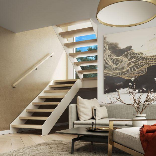 Schody w domu - z balustradą czy bez?