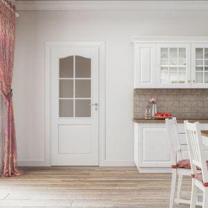 Drzwi wewnętrzne z kolekcji Classic Lux. Fot. POL-SKONE