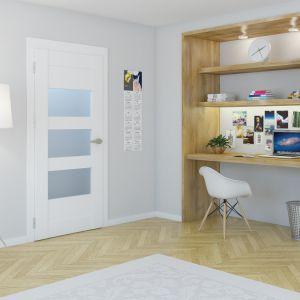 Drzwi wewnętrzne z kolekcji Verimo. Fot. POL-SKONE