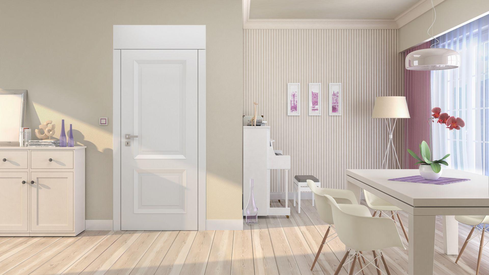 Drzwi wewnętrzne z kolekcji Vertigo. Fot. POL-SKONE
