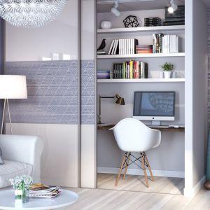 System drzwi przesuwnych Vista pozwoli wygospodarować dodatkową przestrzeń nawet w  małym salonie. Fot. GTV