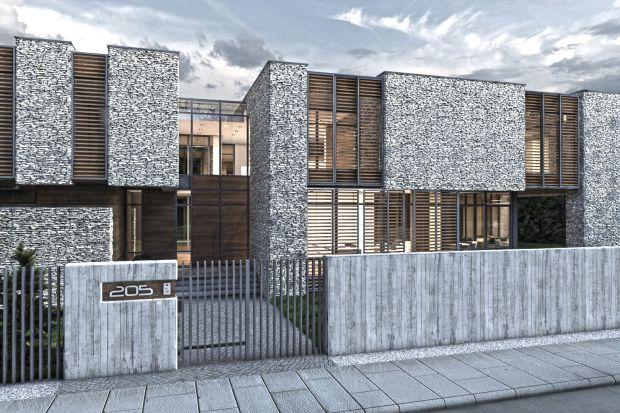 Tak dla natury, nie dla hałaśliwej ulicy - bezkompromisowy projekt domu