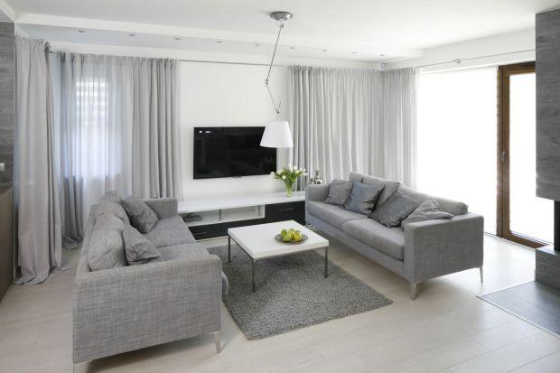 Szary we wnętrzach - zobacz piękne salony, kuchnie i sypialnie w tym kolorze