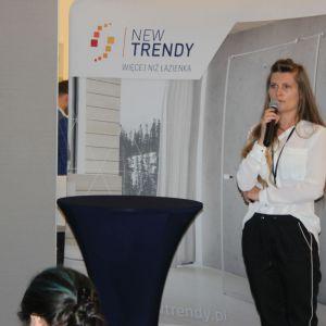 Studio Dobrych Rozwiązań we Wrocławiu 9 maja 2018 r. Aleksandra Nowocień z firmy New Trendy. Fot. Publikator