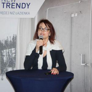 Studio Dobrych Rozwiązań we Wrocławiu 9 maja 2018 r. Aziralili - malarka, twórczyni idei Sztuki Pozytywnej. Fot. Publikator