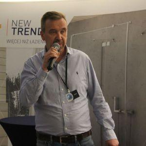 Studio Dobrych Rozwiązań we Wrocławiu 9 maja 2018 r. Dariusz Szarkowski z firmy Metalland. Fot. Publikator