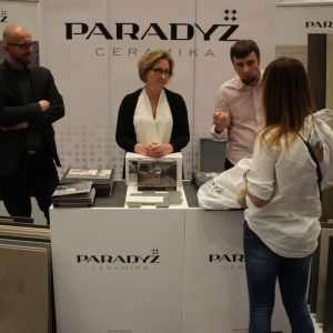 Stoisko firmy Ceramika Paradyż. Fot. Publikator