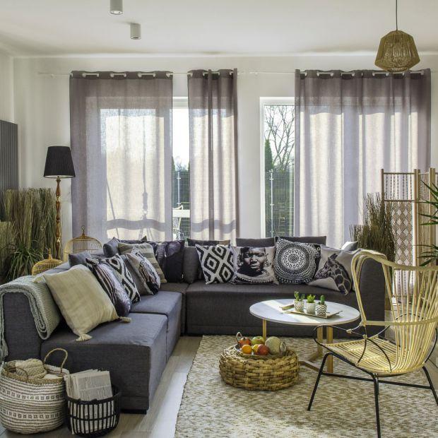 Mieszkanie w stylu etno - tak wygląda po metamorfozie