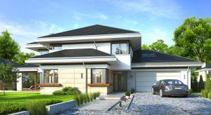 Dom z widokiem 6 to piękny dom piętrowy. Będzie idealny dla rodziny i sprawdzi się na działce miejskiej, jak również w sielskim otoczeniu.