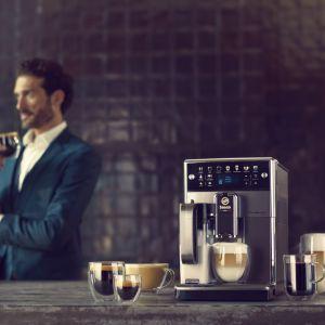 Ekspres do kawy PicoBaristo Deluxe. Fot. Saeco