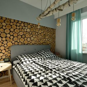 Przytulna sypialnia. Projekt: Szymon Kamiński, Koncept Beautiful Inside. Fot. Szymon Kamiński