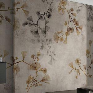 Grafiki ścienne Glamora Kolekcja Kimon, wzór Keiko. Fot. Dekorian Home