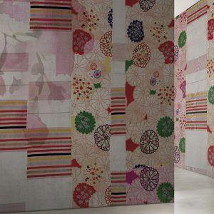 Grafiki ścienne Glamora Kolekcja Kimon, wzór Harumi. Fot. Dekorian Home