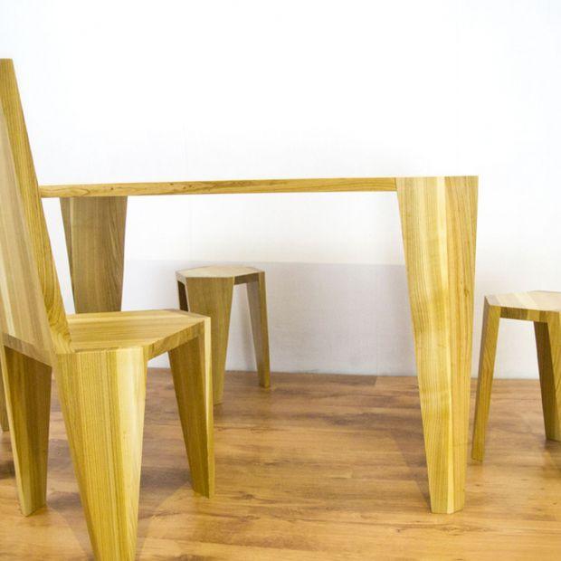Drewniane meble: piękne wzory na zamówienie