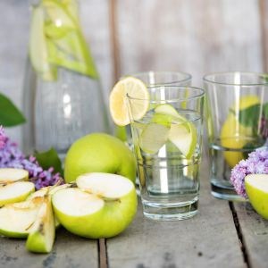 Modne szkło na zimne napoje. Fot. Galicja dla Twojego Domu