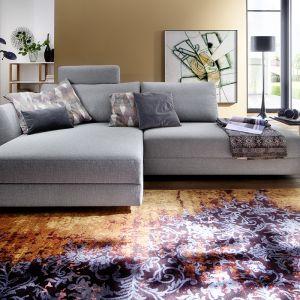 Narożnik Borsalino wyróżnia nowoczesny design w połączeniu z funkcjonalnością. Fot. Livingroom