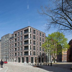 Klinkierowa elewacja. Katharinenquartier w Hamburgu. Fot. Wienerberger