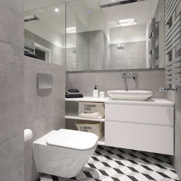 Ściany w łazience - 12 zdjęć z polskich domów