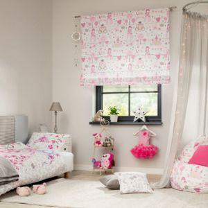 Pokój dziecięcy: panele do zagłówka, pościel Glamour Princess. Fot. Dekoria.pl