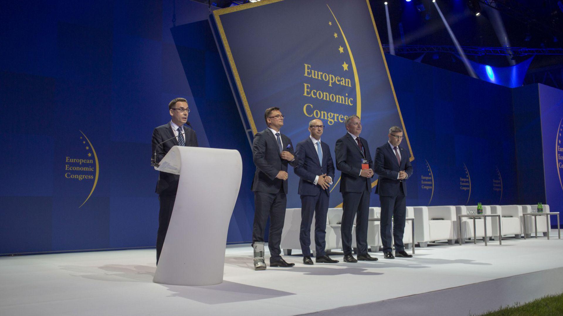 Europejski Kongres Gospodarczy 2018 - inauguracja. Fot. PTWP