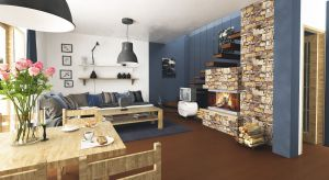 Turkawka to projektmałego domu z wykorzystanym poddaszem na cele mieszkalne. Na niewielkiej powierzchni, nieco ponad 80 metrów kwadratowych, znajduje się ustawna i efektywnie wykorzystana przestrzeń.