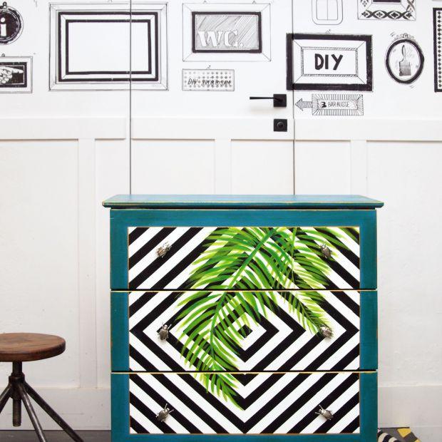 Komoda w stylu urban jungle - zrób ją sam