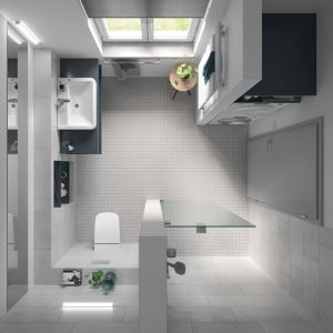 Nowoczesna łazienka. Fot. Tece