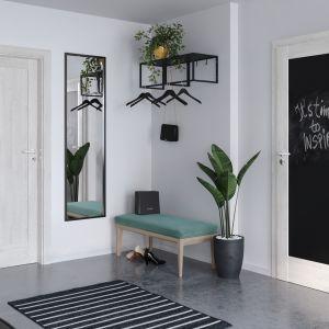 Drzwi Porta Vetre Home E.0 z tablica. Fot. Porta