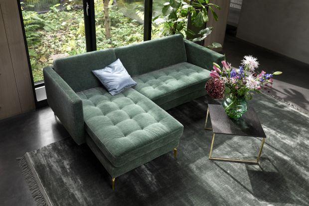 Meble tapicerowane tkaniną - kolorowy welur i aksamit