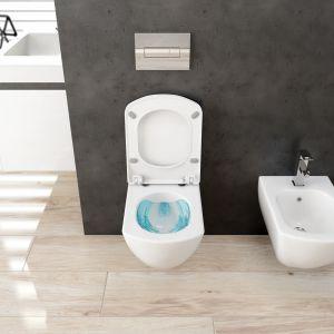 Nowa toaleta bezrantowa Anemon Zero. Fot. Deante