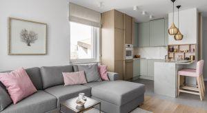 Niewielkie mieszkanie na gdańskim Przymorzu zostało przemyślane i dopracowane w najdrobniejszych szczegółach.